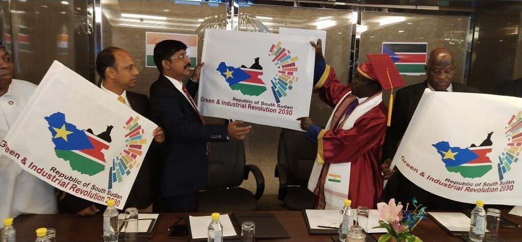India South Sudan Bilateral Relation Boost UP: Prof. Sinha