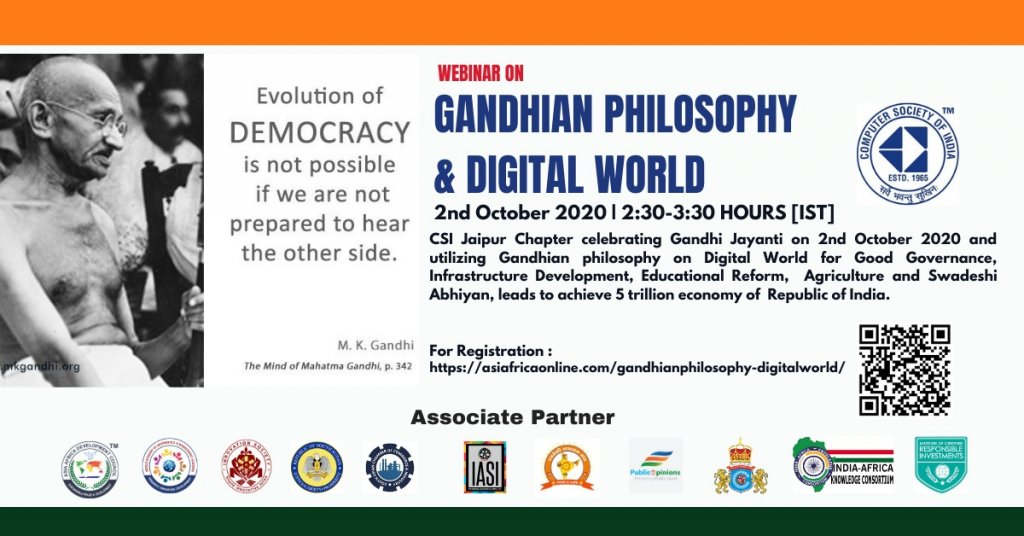 Gandhian Thought and Digital World