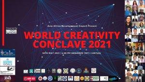 World Creativity Conclave 2021